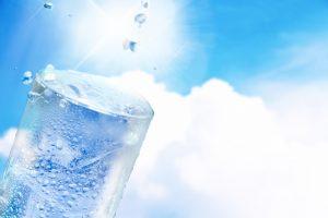 暑い日の飲み物