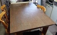 塗装後のテーブル