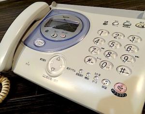 FAX電話機